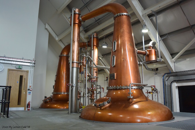 Harris Distillery whisky stills