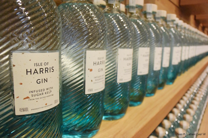 Harris gin bottles