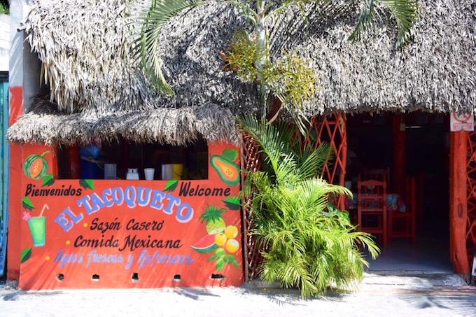 Taco restaurant Tulum