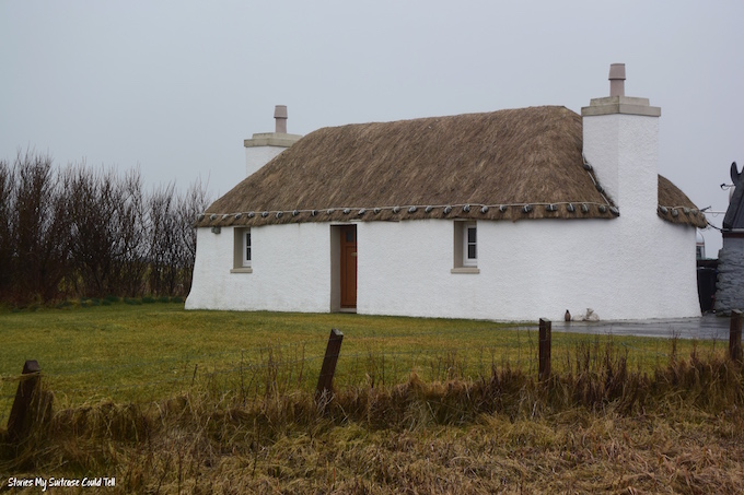 Croft house South Uist