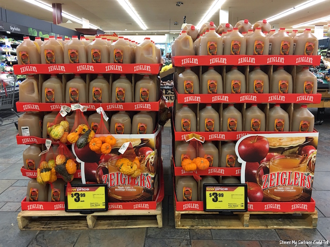 Apple cider display