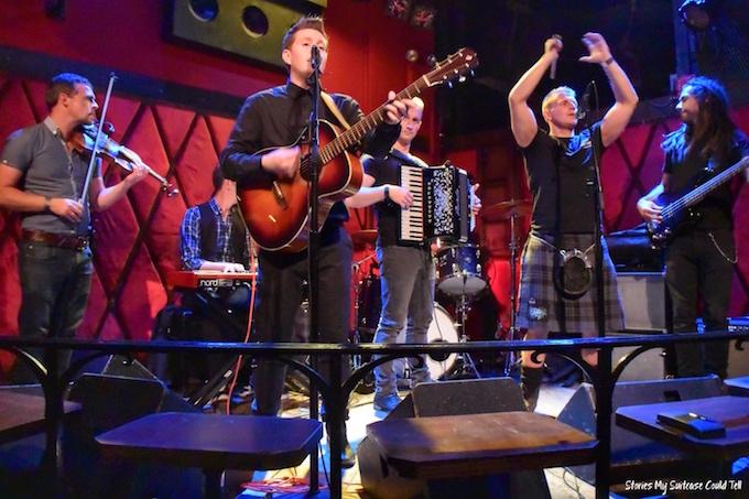 Skerryvore performing NYC