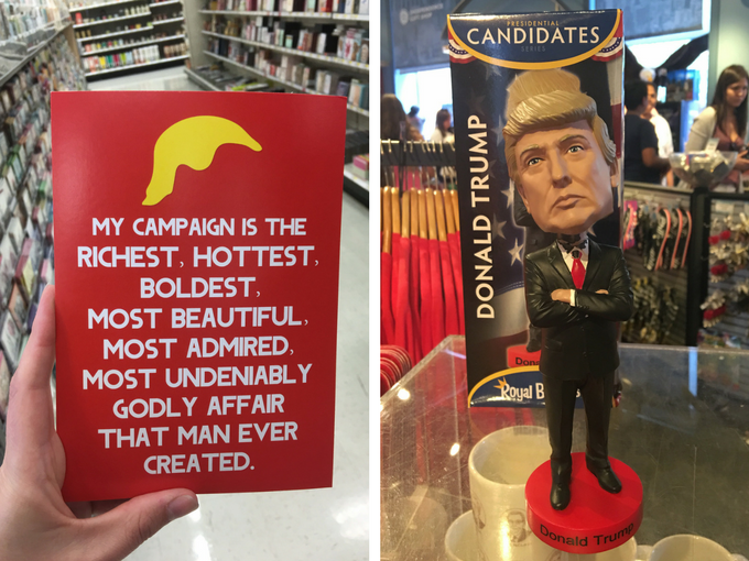 Donald Trump merchandise