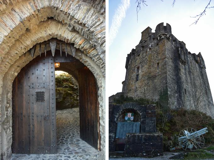 Eilean Donan Castle entrance