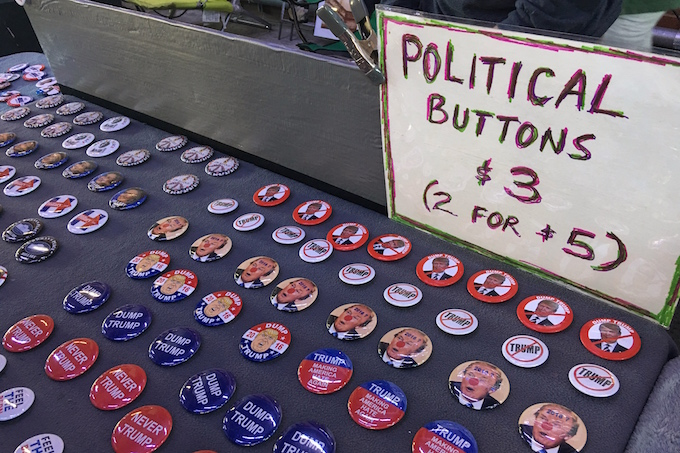 US Election Political Buttons