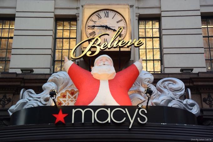 Christmas at Macy's