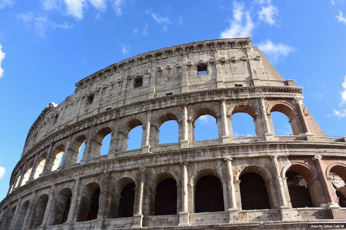Ancient Rome Colosseum Before