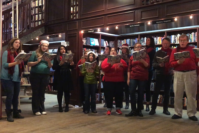 Housing Works Bookstore Carols