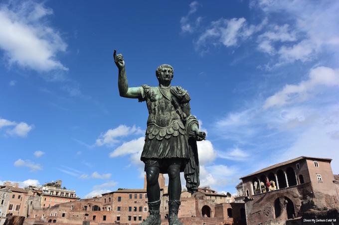 Roman Forum statue