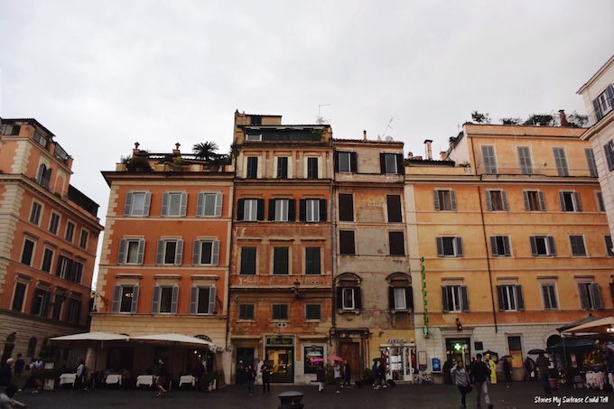 Buildings in Trastevere