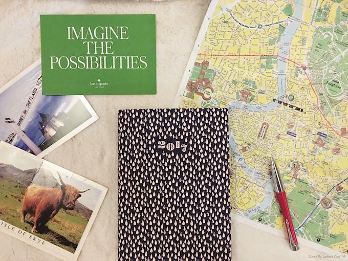 2017 Travel Plans