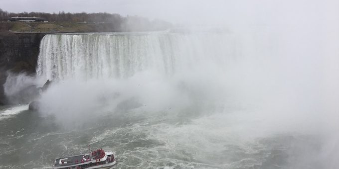 Sailing to Niagara Falls: A Travel Video