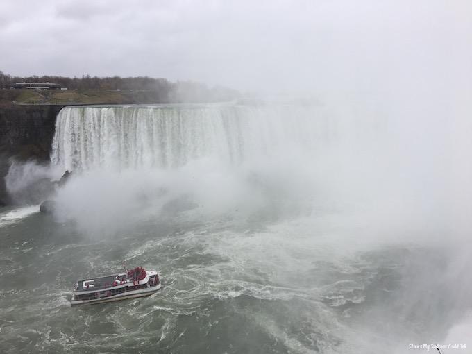 Boat at Niagara Falls
