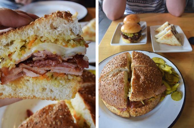Cochon Butcher sandwiches