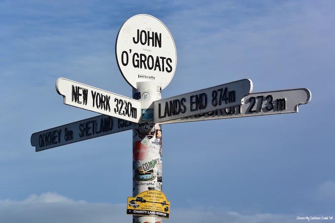 John O' Groats Sign