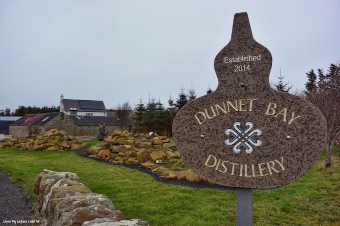 Dunnet Bay Distillery Scotland
