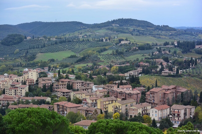 Village in Tuscany