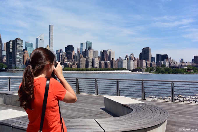 Photographing the New York skyline