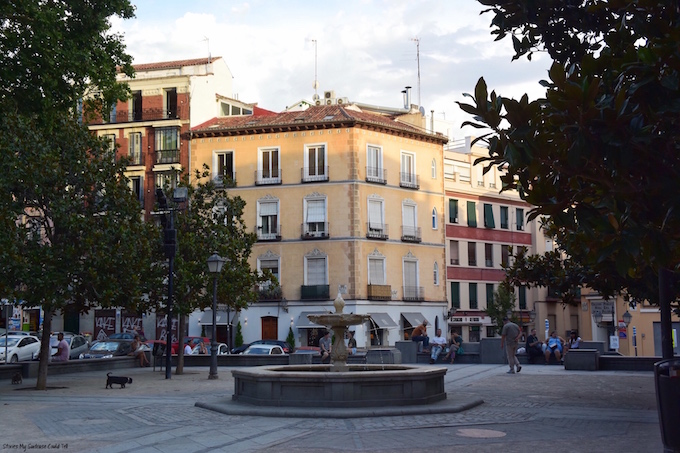 Madrid city square