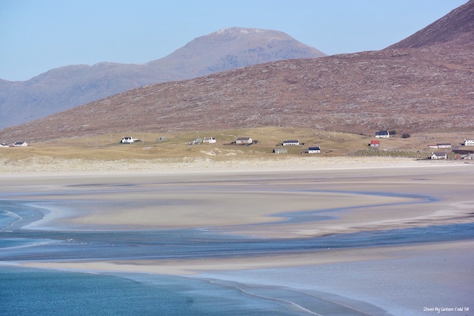 Seilebost and Luskentyre beaches Isle of Harris