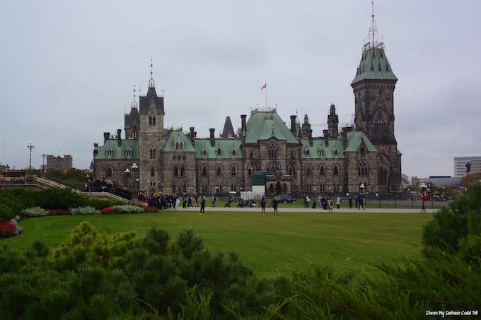 Parliament Hill lawn Ottawa