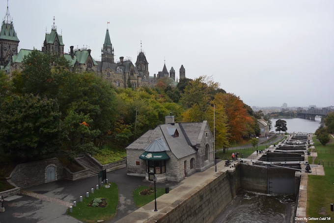 Rideau Canal Locks Ottawa