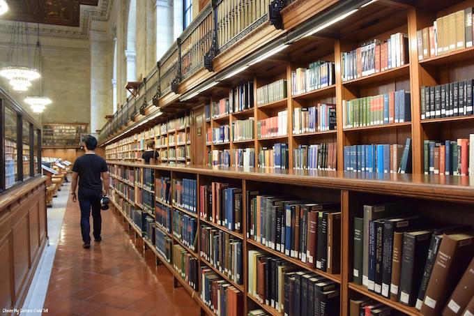 Rose Reading Room NY Public Library