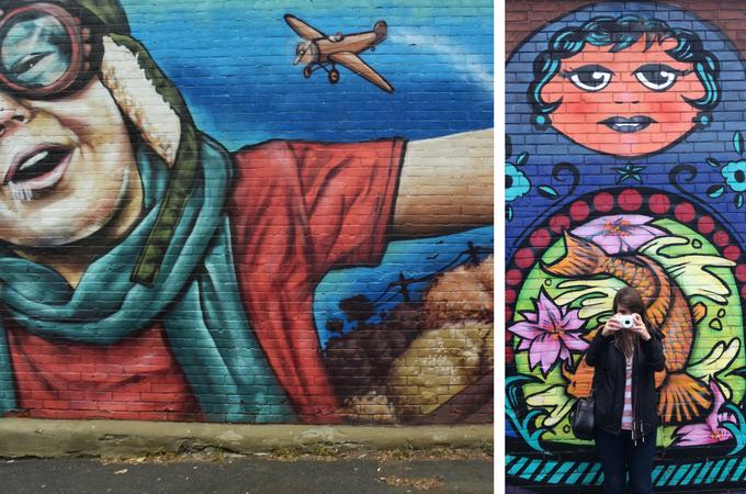 Glebe street art Ottawa