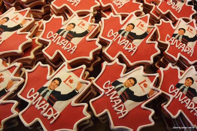 Trudeau Cookies Ottawa