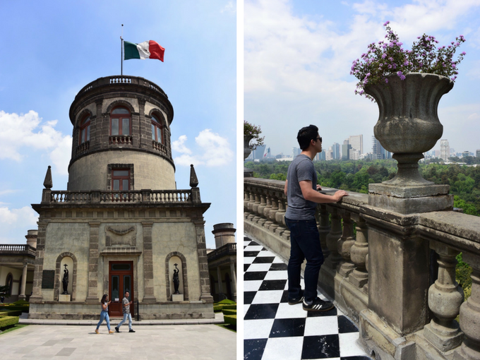 Chapultepec Castle Rooftop Mexico City