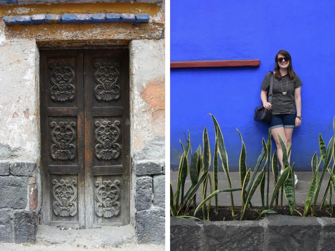 Coyoacan steets Mexico City