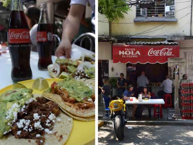 Tacos Hola Condesa Mexico City