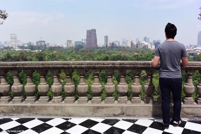 Chapultepec Castle View