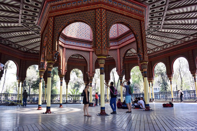 Moorish Kiosk Mexico City