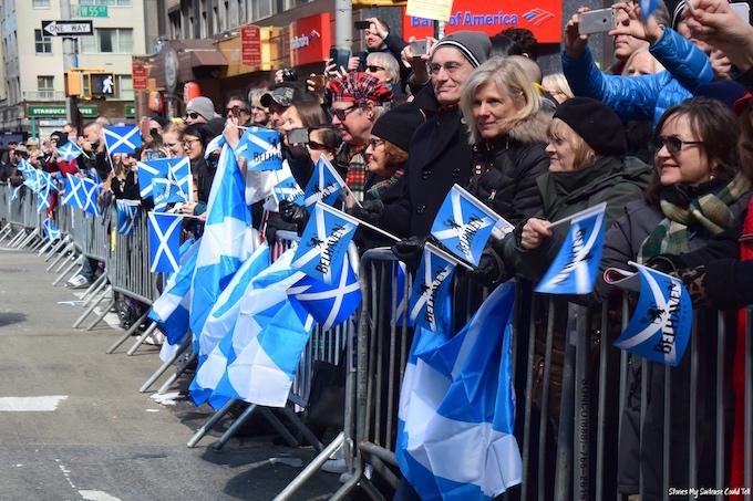 Tartan Week Scottish flags