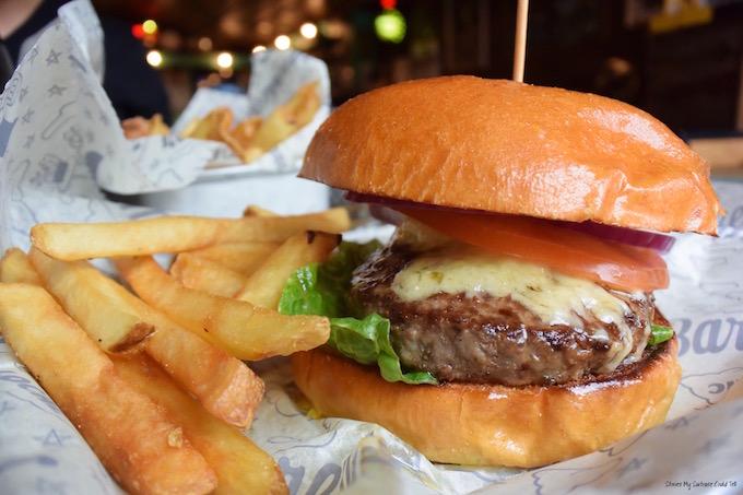 New York City burger