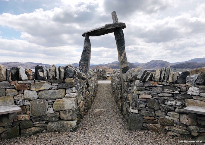 Land rights memorial Uig