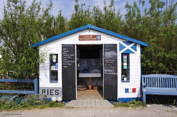 Croft 36 Isle of Harris one of the best restaurants in Lewis and Harris