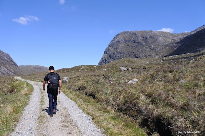 Isle of Harris walking route