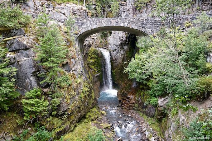 Christine Falls Mount Rainier