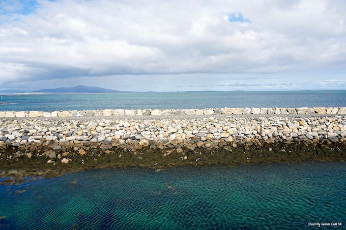 Isle of Berneray pier
