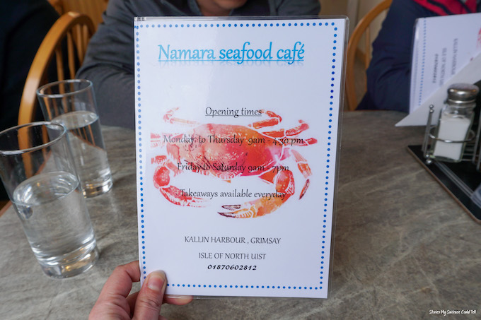 Namara Seafood Cafe Grimsay