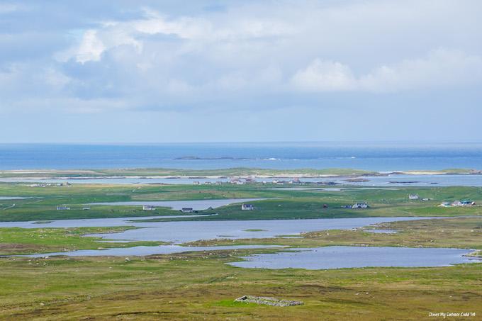 St Kilda Viewpoint North Uist